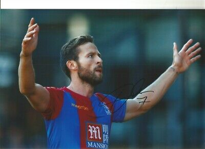 Yohan Cabaye Crystal Palace Authentic Hand Signed 12 x 8 football photo SS098