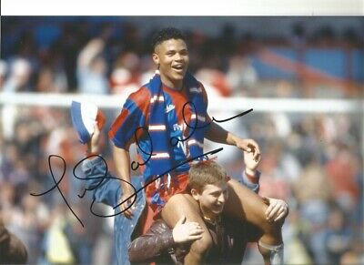 Stuart Everton Authentic Hand Signed 12x 8 inch football photo SS112