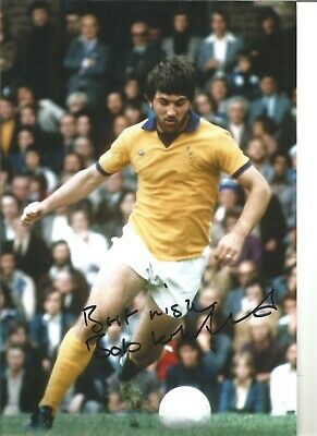 Bob Latchford Everton Authentic Hand Signed 12 x 8 inch football photo SS179