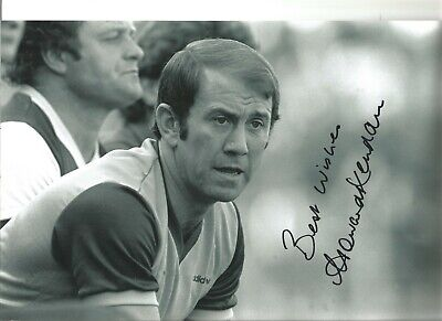 Howard Kendall Everton Authentic Hand Signed 12 x 8 inch football photo SS221b