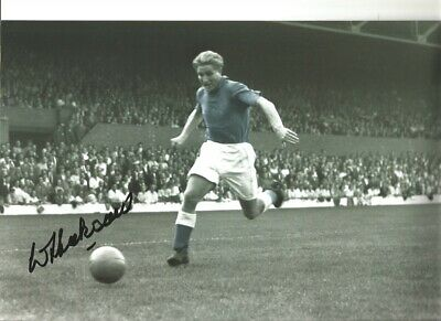 Dave Hickson Everton Authentic Hand Signed 12 x 8 inch football photo SS230a