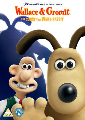 Wallace and Gromit: The Curse of the Were-rabbit DVD (2018) Nick Park cert PG 2