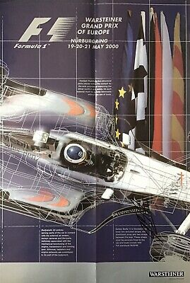 Michael Schumacher Authentic Signed  F1 Poster Aftal#198