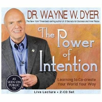 Power of Intention Learning to Co-Create Your World Your Way Wayne Dyer PBS 2 CD