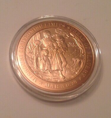 1850 Slavery Compromise Solid Bronze Commemorative Medal