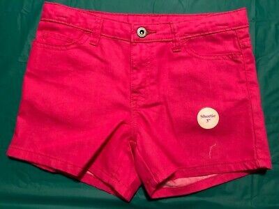 Girls Size Ylg Under Armour Heat Gear Fitted Shorts ~ Pink ~ Large