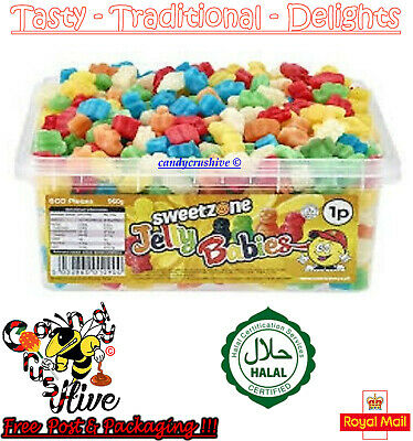 Mini Jelly Babies Tub Sweetzone Halal Sweets Favours Treats Party Candy Kids