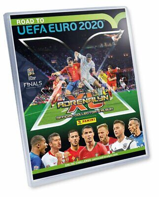 Adrenalyn Xl Road To Euro 2020 Album Full Set Treading Cards 12 Limited