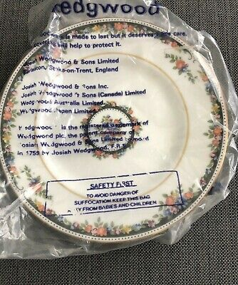 """Wedgwood Osborne Bone China Bread and Butter Plate  Made in England 6"""""""