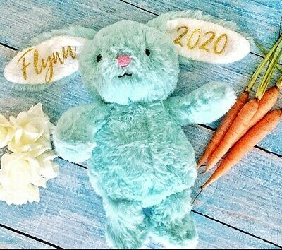 Personalised Easter Bunny - Great Gift Child Plush Soft Toy
