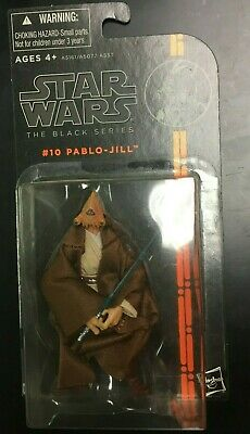 2013 Star Wars 3.75 Black Series #10 Pablo-Jill Rare Figure Toy