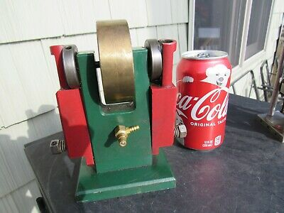 Vintage  Original Double Oscillating Live Steam Engine Working Steam Engine