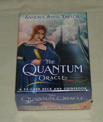 **NEW & SEALED** The Quantum Oracle: Card Deck and Guidebook Sandra Anne Taylor
