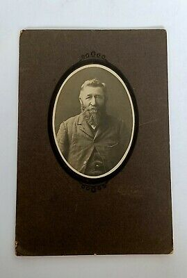 Antique Australian Large Cabinet Photograph Bush Ranger Temora NSW