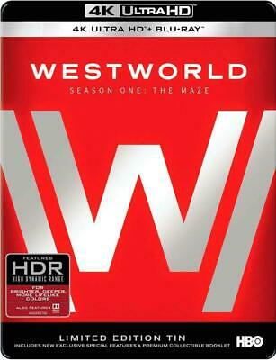 Westworld: The Complete First Season (4K Ultra HD Blu-ray, 2017) - SEALED