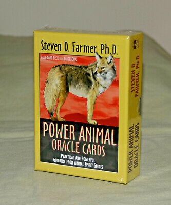 **NEW & SEALED**  Power Animal Oracle Card Deck with Guidebook -  Spirit Guides