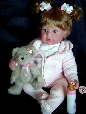 """New in Box ~ Berenguer 20"""" * La Baby Sweet Girl With Makeover & Extras"""