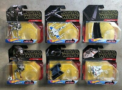 Hot Wheels Star Wars - Starships Collection - SEE LIST - NEW & Very Cool Ships!