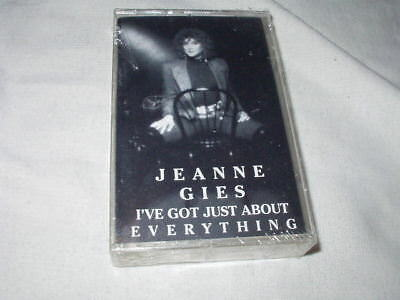 JEANNE GIES I've Got Just About Everything CASSETTE TAPE Private Jazz Sealed NEW