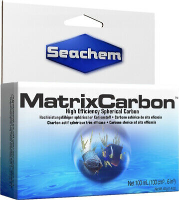 Seachem Laboratories Matrix Carbon High Efficiency Spherical - 3.4 fl.oz./100 ml
