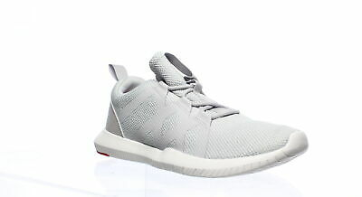 Reebok Mens Reago Pulse Grey/White/Red Cross Training Shoes Size 7