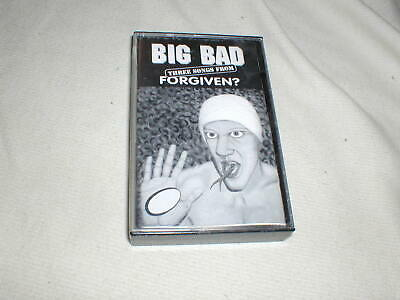 BIG BAD Three Songs from Forgiven CASSETTE TAPE Metal Hard Rock Seattle 1994