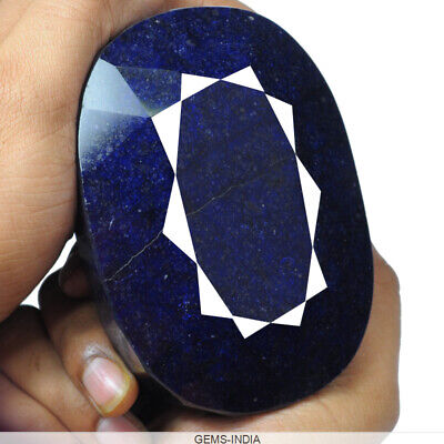 Earth mined 3630 Ct Natural Blue Sapphire Museum Size Loose Gemstone from Africa