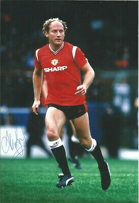 Alan Brazil Man United Authentic Hand Signed 10 x 8 inch football photo SS471