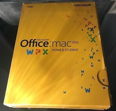 Microsoft Office Retail Home and Student 2011 for Mac (GZA-00136D - 01)