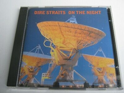 cd.dire straits: on the night.