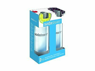 SodaStream Bottle for soda maker grey (pack of 2) 1041243490