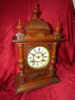 Rare Japanese Striking Mantle Clock By Slikosha Of Toyko