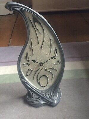 Timewarp Art Nouveau/ Art Deco Mantle Clock. Baroque Designs By Julien Hatswell.