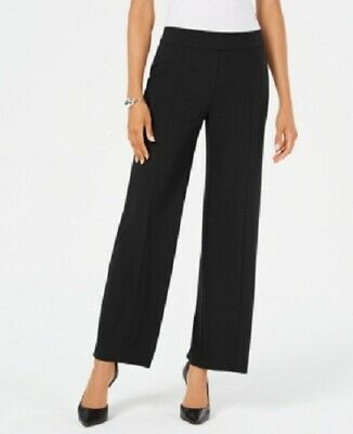 Jm Collection Women's Pull-on Wide-Leg Dress Pants, Black, Size XXL, $60, NwT