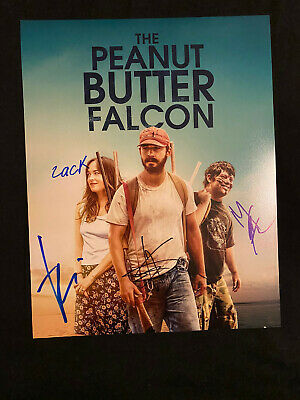 THE PEANUT BUTTER FALCON Autographed Autograph Signed 11x14 X4 Cast Photo PROOF