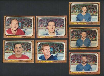 1966-67 Topps NHL Hockey Cards  U-Pick Choose Single Cards to Complete Set