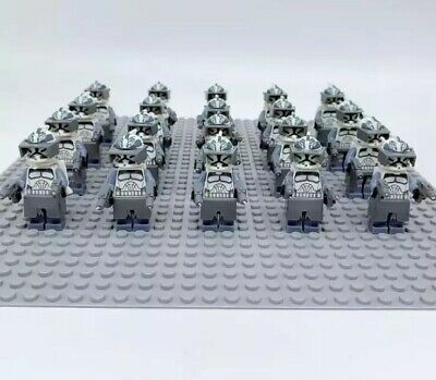 21x 501st Clone Troopers Mini Figures LEGO STAR WARS Compatible