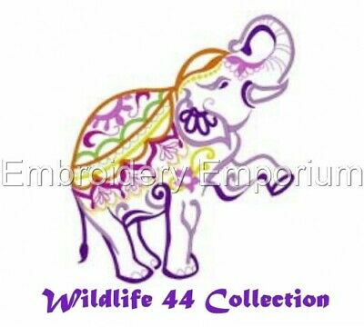 Wildlife 44 Collection - Machine Embroidery Designs On Cd Or Usb