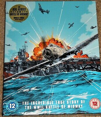 Midway Limited Edition Steelbook 4K Ultra HD / Pre-Order / WORLDWIDE SHIPPING