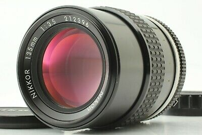 【Near Mint】Nikon Nikkor Non-Ai 135mm f/3.5 Telephoto MF Lens From Japan