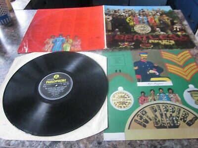 The Beatles Sgt Peppers Lonely Hearts Club Band Mono Parlaphone Pmc 7027 1967