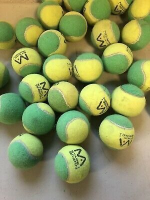 30 Clean Green Tennis Balls For Dogs