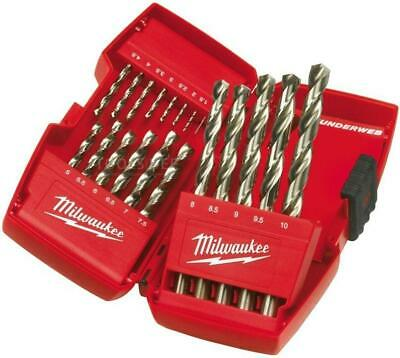 Milwaukee 4932352374 19 Delige Metaalborenset in Cassette