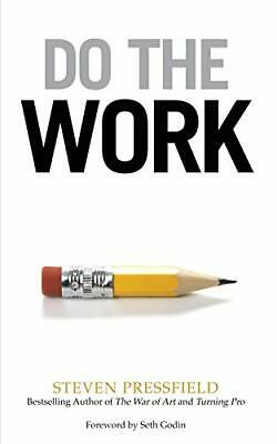 Do the Work by Steven Pressfield and Seth Godin Paperback NEW Book