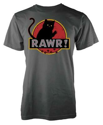 Dinosaur Park Pussy Cat Rawr! Mash Up Kids T Shirt