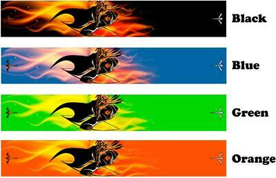 White Water Archery Tribal Flammes Fluorescent Neon Green Arrow Wraps 15 pc pack