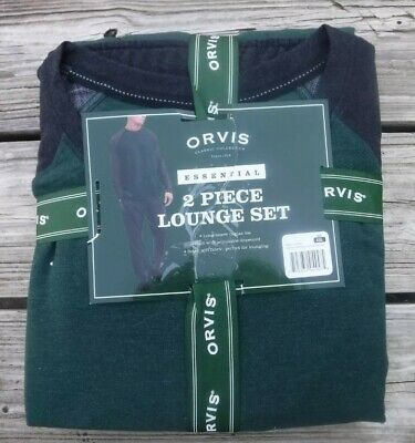 Orvis Men/'s Classic Collection Essential 2-Piece Lounge Set Variety NEW!