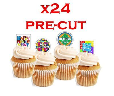 x24 CHEEKY MONKEY edible wafer paper stand up cup cake toppers PRE-CUT