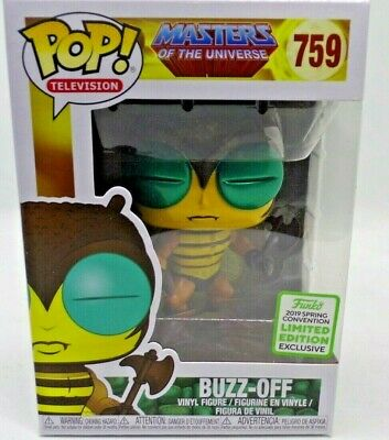 Funko Pop! TV He-Man Masters of the Universe: BUZZ-OFF #759 ECCC Exclusive