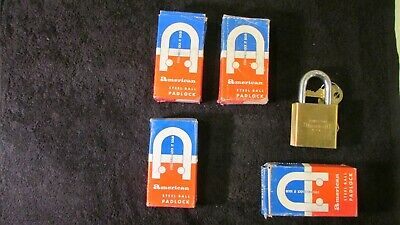 American Lock 560 SOLID BRASS NEW OLD STOCK